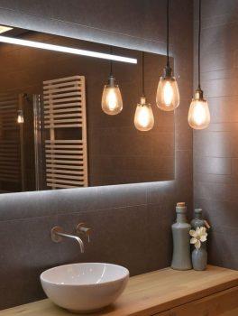 Goede badkamerverlichting