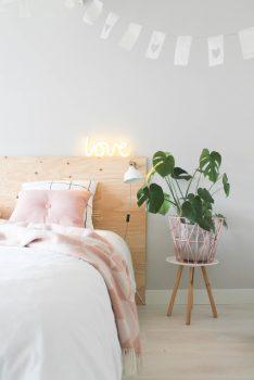 Lichte kleuren in je slaapkamer