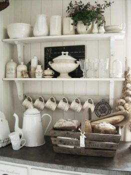 keuken ideeën landelijk - potten en pannen