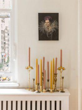 klassieke interieur ideen kaarsen