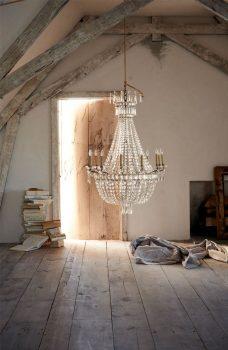 klassieke interieur ideen luxe kroonluchter