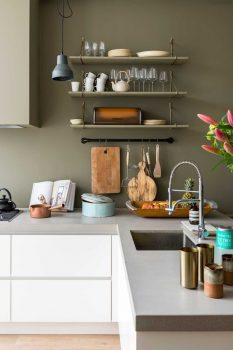 kleine keuken ideeën - zorg voor licht
